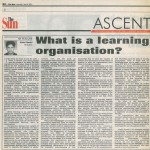 What is a learning organisation?