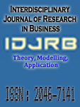 Interdisciplinary Journal of Research in Business