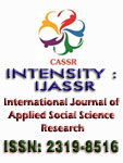 INTENSITY : International Journal of Applied Social Science Research