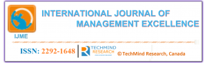 International Journal of Management Excellence